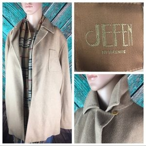 Jeffen By Frankie Camel Colored Coat